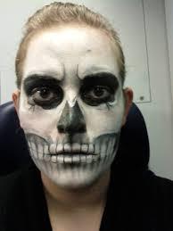 Skeleton Makeup Halloween by How To Make Skull Makeup Mugeek Vidalondon
