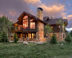 Creative Mountain Home Exterior with Inspiring Ideas Awesome Mountain Homes Exteriors Design Stone Fireplace Chimney