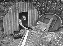 how families lived in their wwii backyard bomb bunkers
