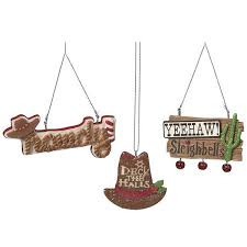 western cowboy signs ornaments 13984 buffalo trader