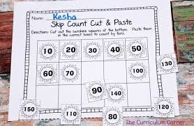 skip counting by 2s 5s u0026 10s the curriculum corner 123