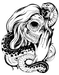 pictures of skull tattoos