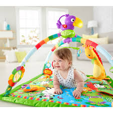 fisher price rainforest music and lights deluxe gym playset fisher price rainforest music lights deluxe gym mattel toys r us