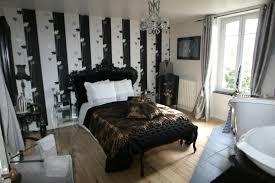 chambre baroque noir et chambre style baroque amenager salon salle a manger en l
