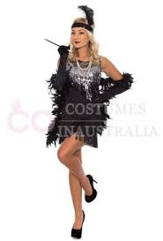 1920 Flapper Halloween Costumes Wear Classic 1920s Flapper Fancy Dress Costume