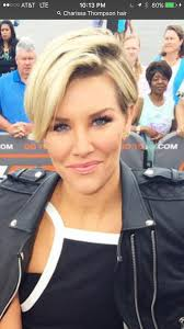 new haircut charissa thompson charissa thompson short hair pinteres