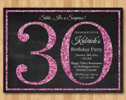 30th birthday invitations for her 30th birthday invitations for