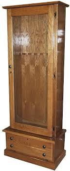 stack on 8 gun cabinet 8 gun wood gun cabinet oak locking storage area