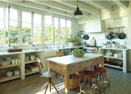 Rustic Kitchen Hoods - white plaster kitchen hood design ideas