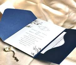 pocket invitation kits ideas pocket folder wedding invitation kits or wedding invitation