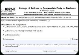 change of address form template change of address form a to z