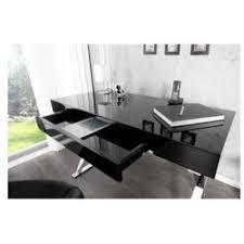 bureau design noir laqué bureau noir design conforama with bureau noir design bureau