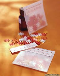 scented writing paper craft punch projects martha stewart