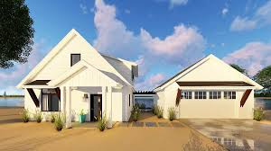modern cabin with loft and detached garage 62651dj