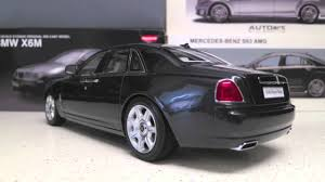 roll royce indonesia 1 18 kyosho rolls royce ghost diecast full review youtube