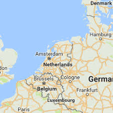 netherlands map images distance from netherlands to