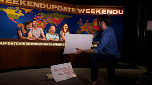 snl news desk hostgarcia