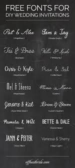 free fonts for wedding invitations 14 of our favorite free wedding invitation fonts for sweet diy