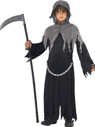 scary childrens halloween costumes grim reaper boys fancy dress halloween soul taker scary childrens