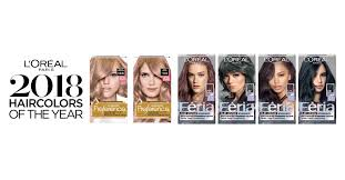 l u0027oréal paris announces its first ever hair colors of the year