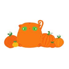 best pumpkin clipart halloween cat clipart orange tabby cat