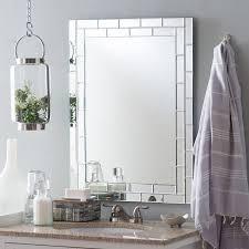 Walmart Bathroom Mirrors by Decor Wonderland Grand Street Modern Bathroom Mirror 23 6w X