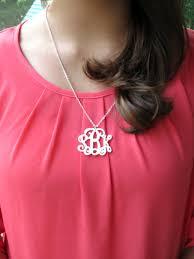 my monogram necklace pendant monogram necklace my capital letters