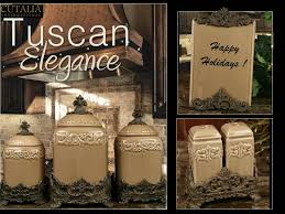 tuscan kitchen canister sets mediterranean kitchen canisters design home accents my