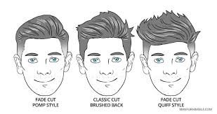 face shape hairstyle the best hairstyle for your face shape man for himself