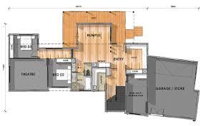 d33 6 ground floor custom design home on sloping block ground floor custom design home on sloping block
