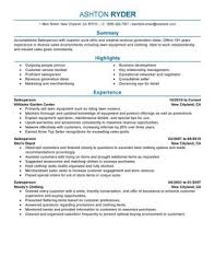 Retail Store Resume Examples by Impactful Professional Retail Resume Examples U0026 Resources