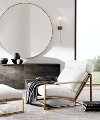 Design Your Livingroom How To Decorate With Round Mirrors Your Living Room Modern