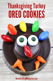 turkey cookies for thanksgiving thanksgiving turkey oreo cookies easy food craft