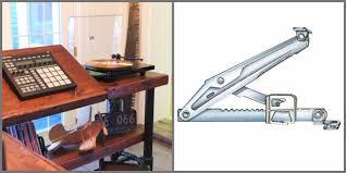 Drafting Table Hinge Plain Jane Vika Furuskog Tops Into Fab Industrial Desks Ikea Hackers