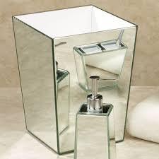 crystal mirror bath accessories