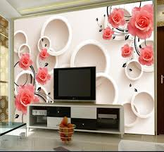 Wallpaper For Living Room Online Get Cheap Printed Wallpaper Aliexpress Com Alibaba Group