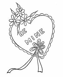 color heart coloring