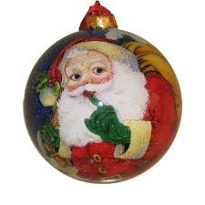 1947 best santa clause on christmas balls images on pinterest