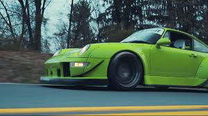 rauh welt porsche green witness the birth of the latest rwb porsche in glorious 4k