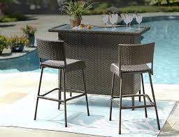 outdoor furniture bar sets patio furniture bar height table u2013 wfud