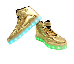 light up shoes gold high top galaxy led shoes light up usb charging high top strap lace men s