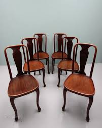 set of six thonet antique dining cafe chairs antiques atlas