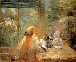 best painting berthe morisot on the veranda painting best paintings for sale