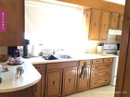 50s kitchen revamped before and after natalie cox design
