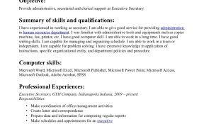 executive admin resume eliolera com