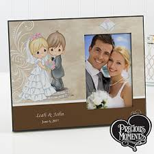 personalized precious moments picture frames bride u0026 groom