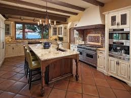 Stone Kitchen Flooring by Traditional Kitchen With Farmhouse Sink Specialty Door Raised