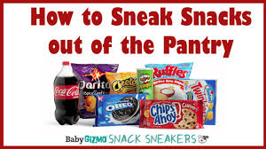 pantryk che snack sneakers episode 1 how to get the food out of the pantry