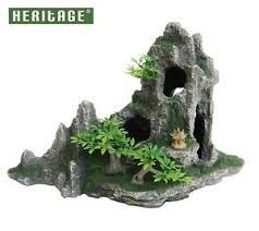 heritage hb016 aquarium fish tank rock formation cave ornament