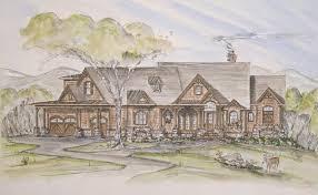 Residential Blueprints Chestatee River House Plan Builders Floor Plans House Plans